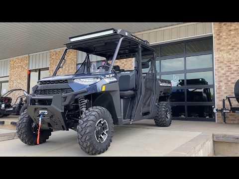 2020 Polaris Ranger Crew XP 1000 Premium Winter Prep Package in Marshall, Texas - Video 1