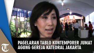 Pagelaran Tablo Kontemporer Jumat Agung di Katedral Jakarta