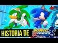 Surge O Sonic Passarinho Verde Historia De Sonic Riders