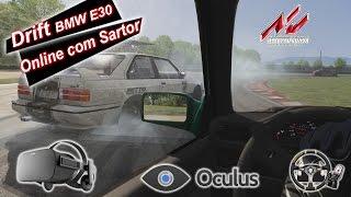 Drift Assetto Corsa   Oculus Rift   Com Matheus Sartor (BMW E30)