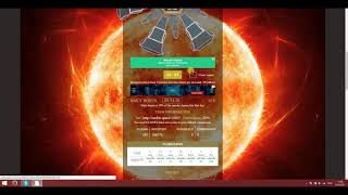Заработать без вложений!Кран SunBTC Space Обзор Бонус каждые 5 минут