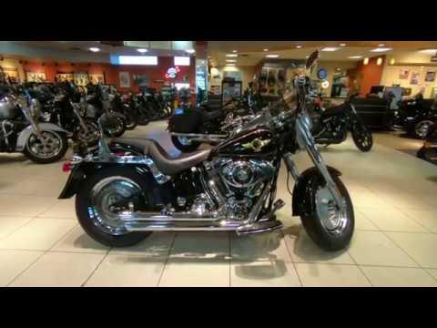 2005 Harley-Davidson Softail FLSTF 15th Anniversary Fatboy