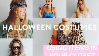 EASY, DIY, CHEAP HALLOWEEN COSTUME IDEAS