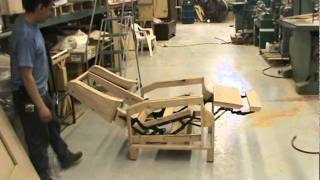 ANTIQUE FURNITURE REPAIR LLC  custom recliner frame