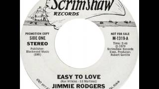 "Jimmie Rodgers ""Easy To Love"""
