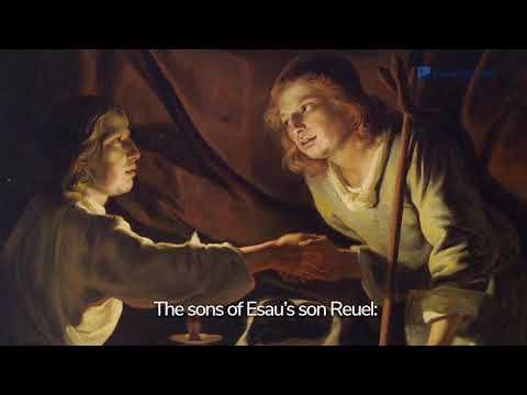 Genesis 36: Esau's Descendants | Bible Story (2020)