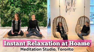 Instant Relaxation at Hoame - Meditation Retreat