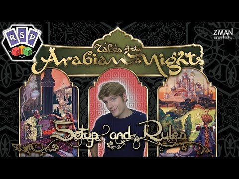Tales of the Arabian Nights Setup and Rules - Ready Steady Play