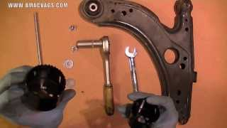 How to Remove a Wishbone Bushing with DIY Homemade Tool