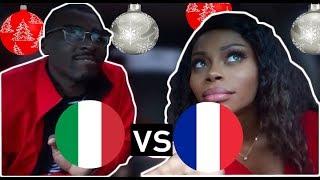 REACTION| ITALY vs FRANCE Hip Hop/ Rap/ RnB