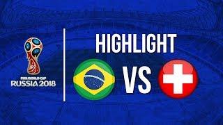 Timnas Swiss Berhasil Menahan Imbang Timnas Brasil di Laga Piala Dunia 2018