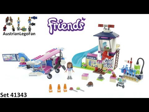 Vidéo LEGO Friends 41343 : La visite en avion d'Heartlake City