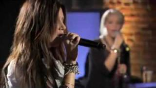 Ashley Tisdale Tell me Lies Live On WALMART SOUNDCHECK