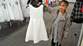Finally Bought First Communion Dress (I Need To Go To The Gym) Vlog. 8