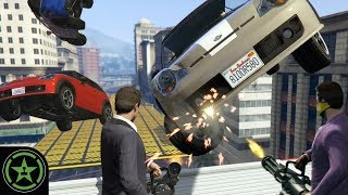 Things to Do in GTA V - Miniguns VS Mini Coopers