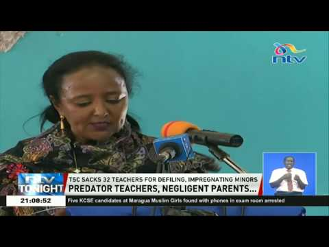 TSC sacks 32 teachers for defiling and impregnating minors