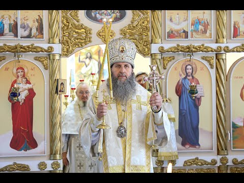 Проповедь митрополита Даниила в храме праведного Иоанна Кронштадтского в селе Кетово