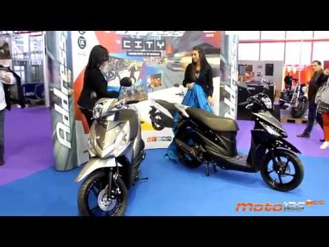 Suzuki Address 110 - MotoMadrid 2015