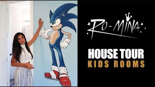 RO-MiNA - House Tour - Kids Rooms