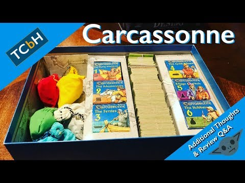 The Cardboard Herald - Carcassonne Additional Thoughts & Review Q&A