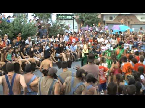 Huétor Santillán. Fiestas 2012. Concurso disfraces. El libro de la selva.