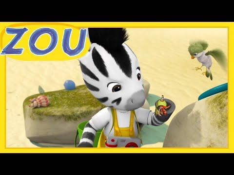 Zou en Français 🦀 LE BERNARD L'HERMITE  🐚 Dessins animés pour enfants