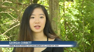 Class of 2020: Georgia Corbett (Three Rivers Middle College Magnet H.S.)
