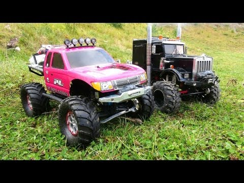 "RC ADVENTURES - VERY Pregnant JEM 4x4's For YouTube! ""PiNKY & OVERKiLL"" Scale RC Trucks"