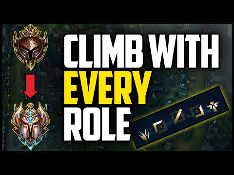 How to *ACTUALLY* CLIMB with EVERY ROLE in Season 10!!
