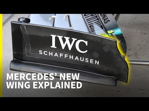 Why Mercedes (and others) were asked to change their F1 front wing designs