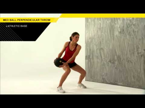 Medicine Ball Perpendicular Throw