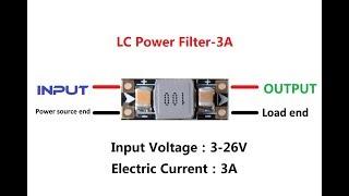 3A 3 26V VTX LC Power Filter For RC Drone FPV da Banggood