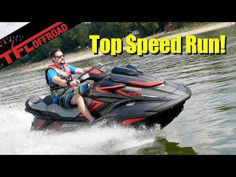 2019 Yamaha Waverunner FX Cruiser SVHO Expert Buyer Review + Top Speed Run!