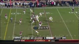 Notre Dame At Oklahoma Highlights