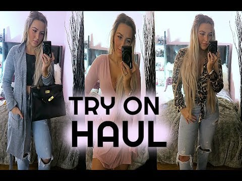 FALL TRY ON || BOOHOO FALL HAUL
