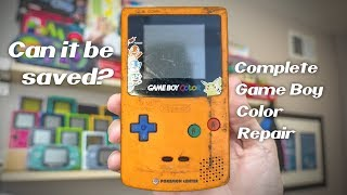 Can This RARE Game Boy Color Be Saved?
