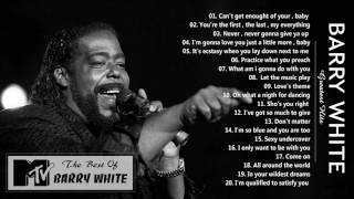 Barry White greatest hits - The best of Barry White playlist
