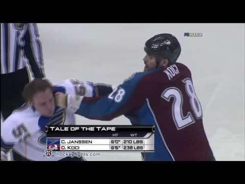 David Koci vs. Cam Janssen