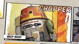 "Disney XD España | Star Wars Rebels: Conoce a ""Chopper"""