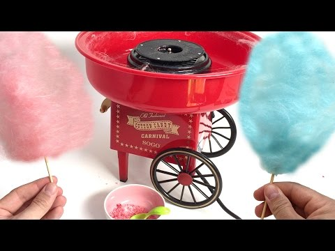 COTTON CANDY MAKER MACHINE  Algodón de azúcar CANDY FLOSS FAIRY FLOSS