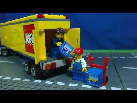 Lego city 3221 pas cher le camion lego city - Lego city camion police ...