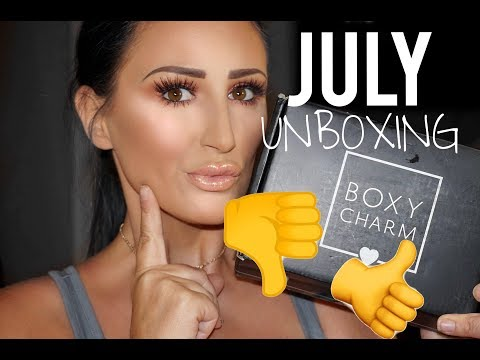 JULY BOXYCHARM UNBOXING 2018