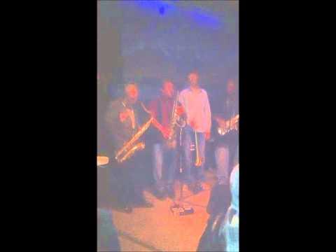 Black Cat Bone - The Reverend Big Papa Jones with CBs House Party Blues Jam 12-28-11 Maya Cafe
