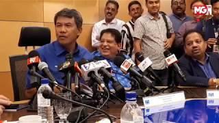 MGTV LIVE - Sidang Media Bersama Tok Mad Hassan setelah selesai Mesyuarat Majlis Tertinggi BN