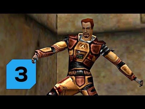 Half-Life Deathmatch: Source │3│ Marťa přišpendlený ke zdi