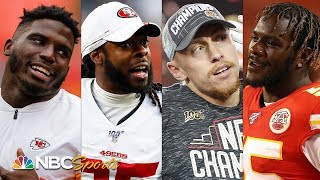 Super Bowl 2020: Ranking loudest talkers for Chiefs, 49ers in Miami | NBC Sports