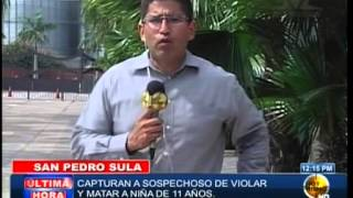 TVC Hoy Mismo- Capturan presunto violador y asesino de la niña de 11 años