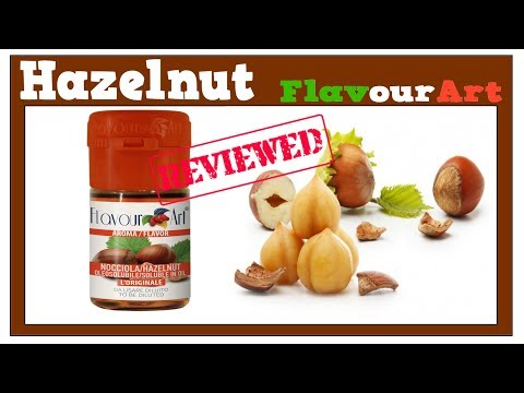 Hazelnut FlavourArt – Review + Pecan Pie Recipe MaxVG (DIY Eliquid Hazelnut Flavor Review)