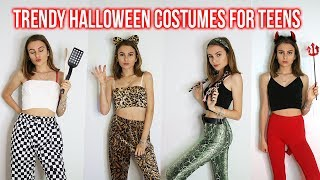 COOL LAST MINUTE HALLOWEEN COSTUMES FOR TEENS! TRENDY, EASY & QUICK! Lovevie