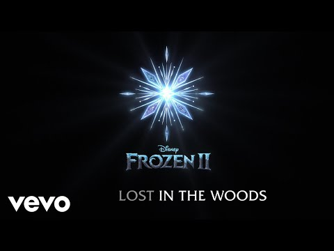 """Jonathan Groff - Lost in the Woods (From """"Frozen 2""""/Lyric Video)"""